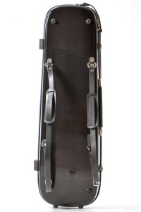 violin luxury squared carbon case back