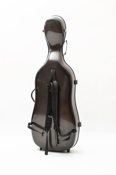 cello luxury squared carbon case back