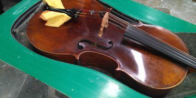 LumaSuite- Cello in the case mould