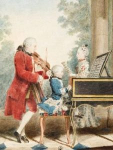 LumaSuite blog-Mozart and his family