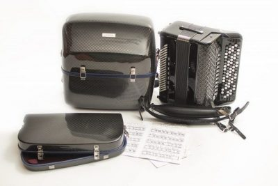 Complete kit Limited Edition carbon accordion case luxury