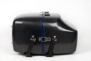 LumaSuite carbon twill standard accordion case side
