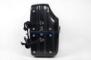 LumaSuite carbon twill standard accordion case and feet