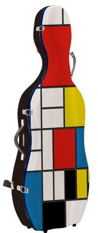 Custodia per Cello Mondrian