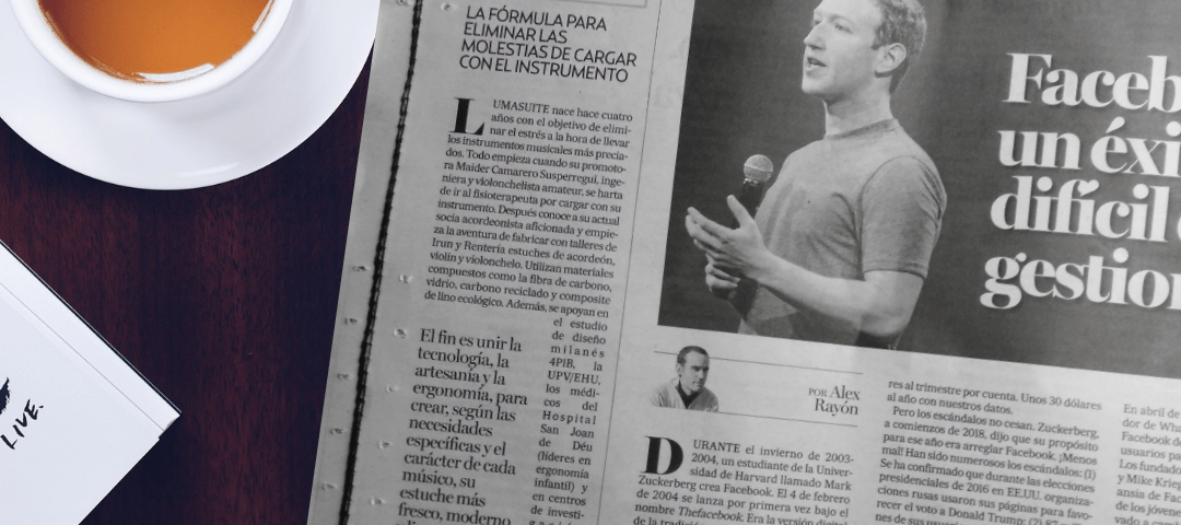 Juan de la Herrán speaks about LumaSuite in Deia newspaper.