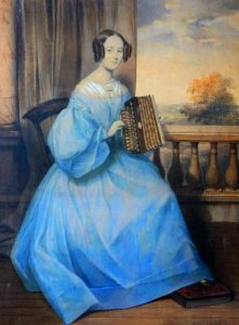 LumaSuite blog- Louise Reisner the first star of the accordion.