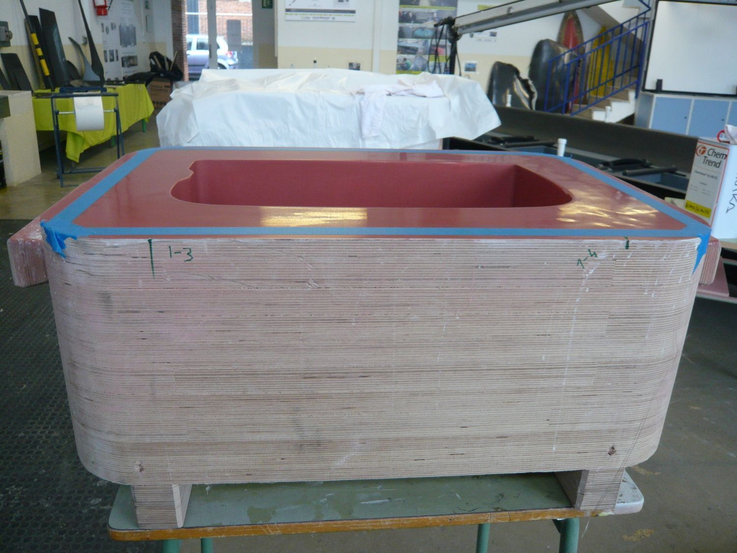 Creation of the musical instrument mold