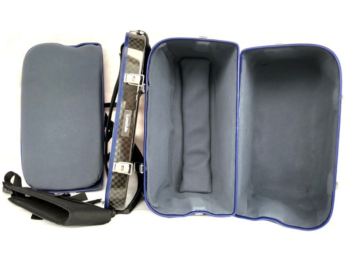 Inside Limited Edition carbon accordion case